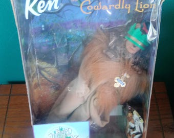 Mattel Ken as Cowardly Lion from Wizard of Oz doll