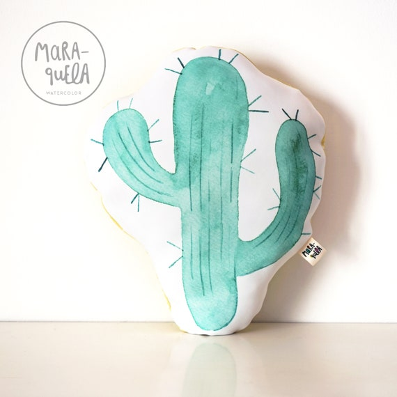 Cojín decorativo CACTUS MINT  / Mint CACTUS Throw Pillow