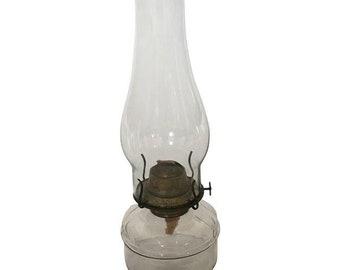 Antique Eagle Oil Lamp