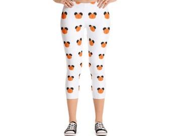 Mickey Pumpkin white leggings | Disney leggings | Disney clothes | Disney Halloween | Disney shirt | Mickey Mouse