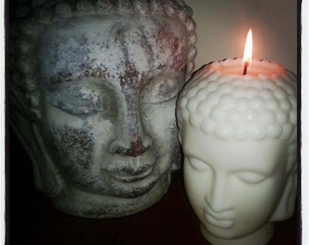 Large Soy wax Buddha candle