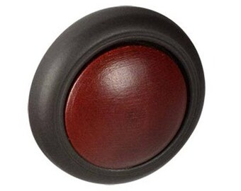 "4-Drawer or Cabinet Knobs-Aged Bronze and Russet Knob-1-1/4"" (32mm) Diameter-KNOB100"