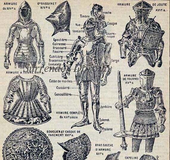 Tapfere Ritter Rüstung Helm Pferd Rüstung die