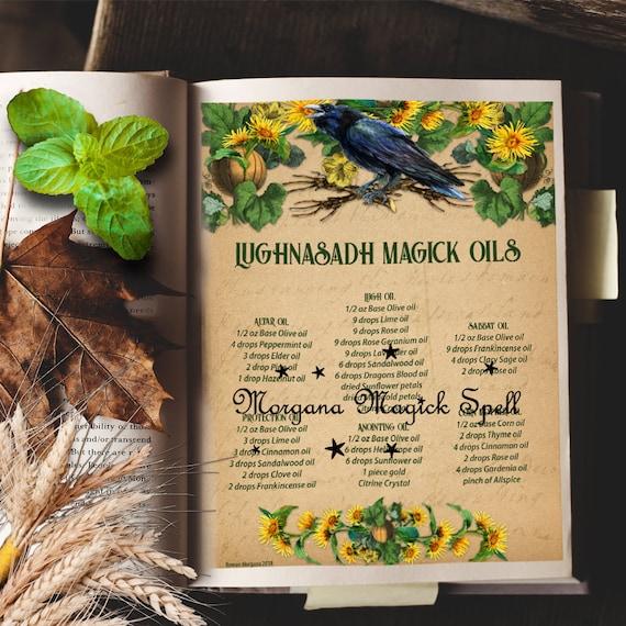 Lughnasadh Magick Oils Recipes