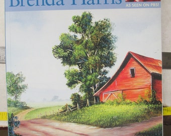 Painting With Brenda Harris softbound new book 114 pages