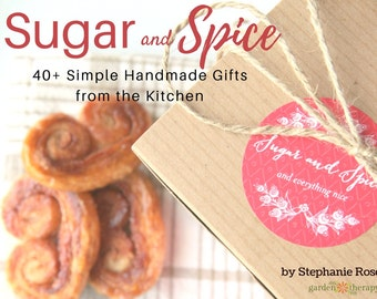 The natural beauty recipe book pdf 45 easy to make herbal sugar spice handmade gifts from the kitchen 40 simple handmade gifts to cook forumfinder Gallery
