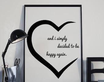 Sois heureux