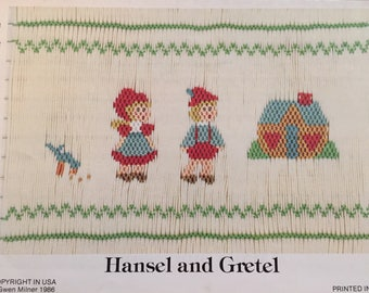 Hansel and Gretel Smocking Plate