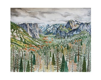 Yosemite National Park Print #2