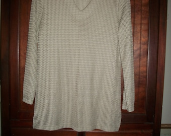 Vintage 80's Over-Sized Tunic Top Size M