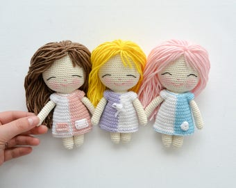 Crochet doll pattern etsy crochet doll pattern pdf english french and spanish dt1010fo