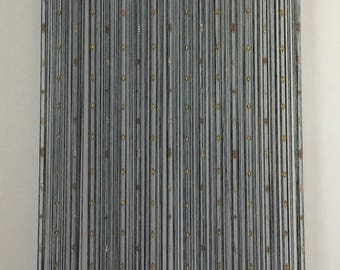 Glass Bead Curtain / Room Divider / Wall Art / Beaded Curtain