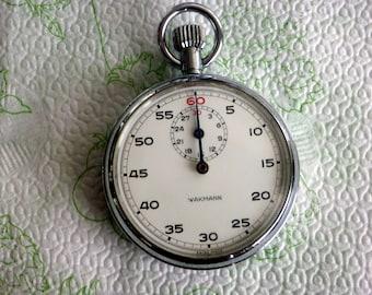 16s WAKMANN SWISS Timer, 7 jewels, hardly used