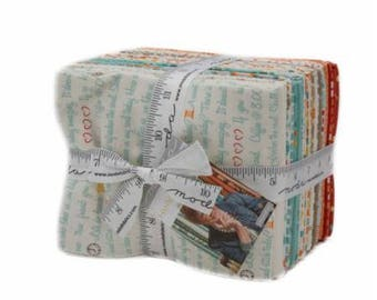 Hello My Friend by Sandy Gervais for Moda Fat Quarter Bundle 27 FQ