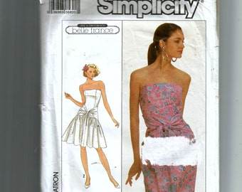 Simplicity Misses' Semi-Fitted Dresses Pattern 8674