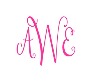 Personalized Name Decal, Custom Made to Order