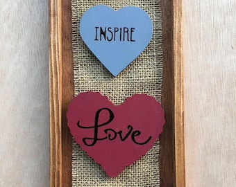 Valentines Day - Heart - Inspire - Love Sign