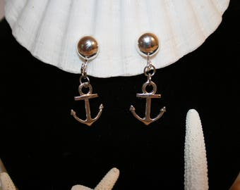 MOTHER'S DAY Jewelry Gift Clip-On Anchor Earrings