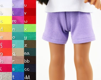 Fits like Wellie Wishers Doll Clothes - Knit Shorts, You Choose Color | 14.5 Inch Doll Clothes