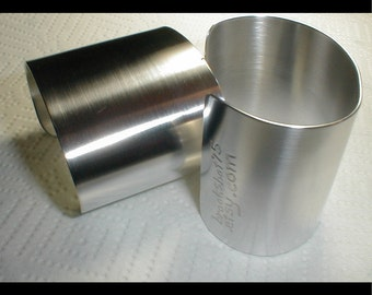 Polished Metal Cuffs