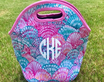 Lilly Inspired Neoprene Lunch Totes