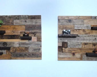 wooden wall art, wall mounted shelf, rustic shelf, home decor, solid wooden shelf, wooden wall art