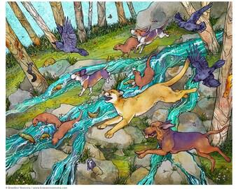 Wild Parade // 8x10 Print