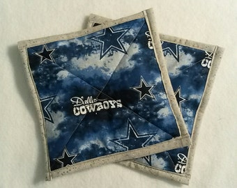 NFL team Pot Holders / Hot Pads  Set of 2