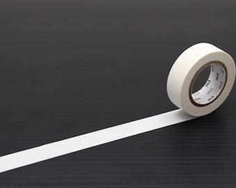 MT washi tape, matte white, 15 mm