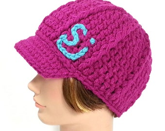 Hot Pink String Cheese Incident Hat with Visor, SALE - MED