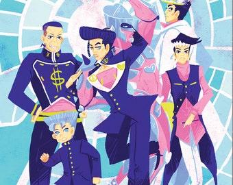 Unbreakable Boys 12x18 SPARKLE poster