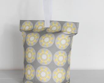 Yellow Doorstop Daisy Fabric Door Stop Doorstopper