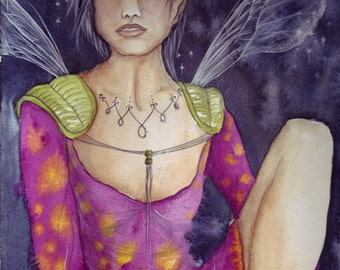Original Watercolour Painting ~ Inner Peace