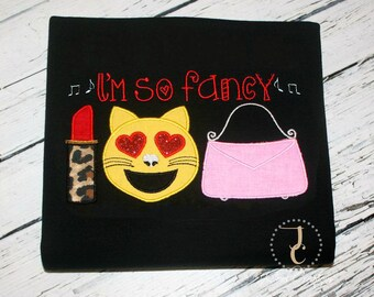 Im So Fancy - Girls Dresses, Im So Fancy Shirt, Im So Fancy , Going Home Outfit, Girl Baby Shower Gift, Baby Girl Clothes, Newborn Girl