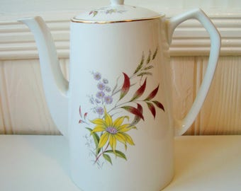 Alfred Meakin floral tea or coffee pot