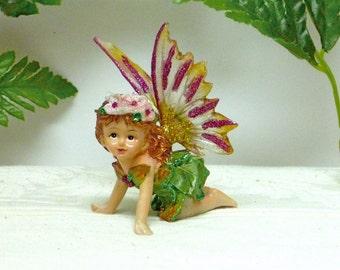 FAIRY CHILD.  Young Fairy - A Whimsical delight.  Sparkly Fairy.  Woodland Fairy. Fairy Children.