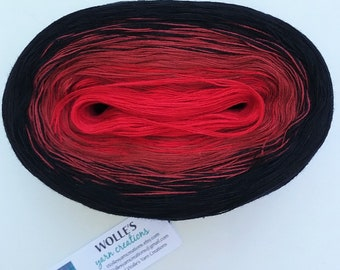 CORDIAL -- Color Changing Cotton yarn -- 480 yards/100 gr -- Fingering Weight
