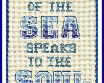 Sound of the Sea Cross Stitch Kit -