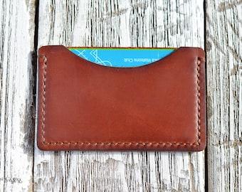 Leather Card holder Card Holder Minimalist Card holder Minimalist leather card holder Card Case Groomsmen gift Slim wallet