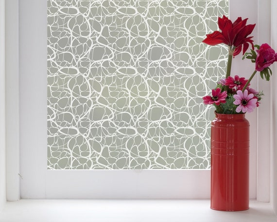 Savona Frosted Window Cling by LoveAbode