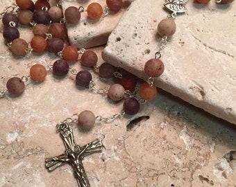 Floral Keepsake Chain Rosary