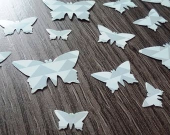 X 100 Butterfly table confetti
