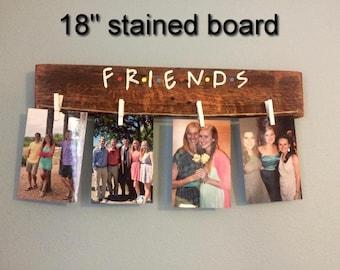 Friends TV Show Picture Hanger, Photo Hanger, Photo Display