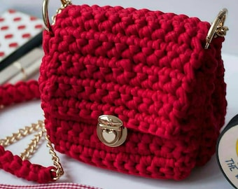 Red Mini Bag by Aylav