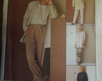 McCalls 6979, size varies, tunic and pants, UNCUT sewing pattern, craft supplies