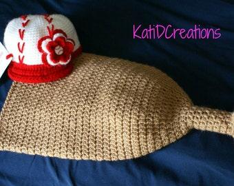 Baseball Bat Cocoon, Baby Bag, PDF, Pattern, Sports, Crochet, Baseball, Hockey, Football, Photo Prop, Photography, Newborn, Baby Shower, Hat