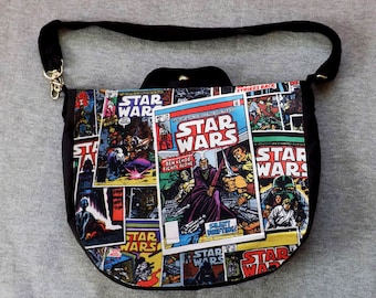Star Wars Comic Cross Body Purse Messenger Bag