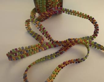 Fancy multicolored in shades of pastel Ribbon