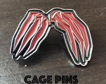"""1.25"""" Dragon Claws Pin"""