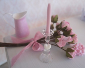 1:12 Dollhouse Candles.. 1 inch scale miniatures